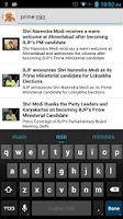 Screenshot of Narendra Modi Speeches-Videos