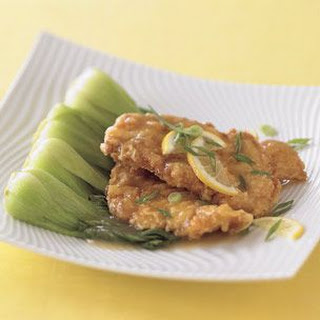 Lemon Chicken with Bok Choy