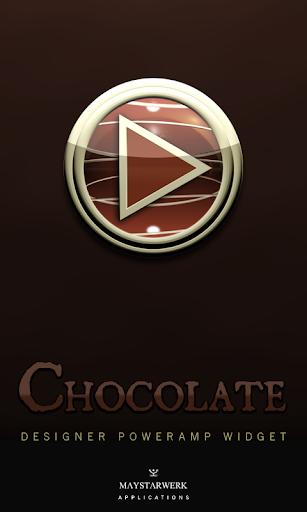 Poweramp Widget Chocolate