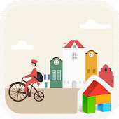 Colorful Town dodol theme