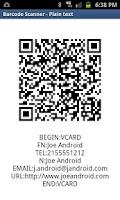Screenshot of SCANdango - Barcode Assistant