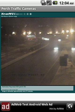 Perth Traffic Cameras- screenshot