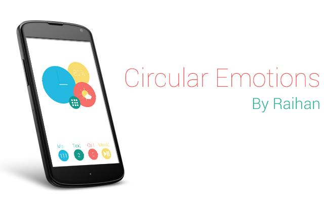 Circular Emotions (Widget) - screenshot