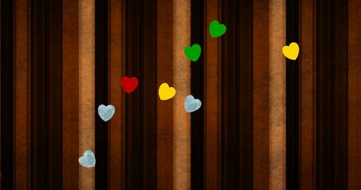 Falling Hearts Wallpaper Full