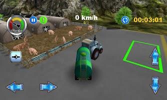 Screenshot of Tractor: Farm Driver