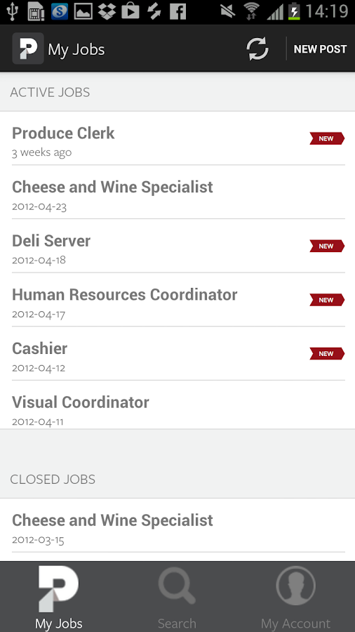 Proven Restaurant Hiring - SF - screenshot