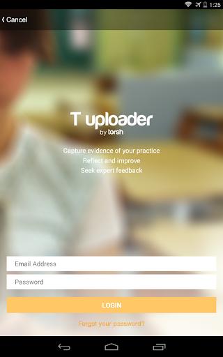 T Uploader