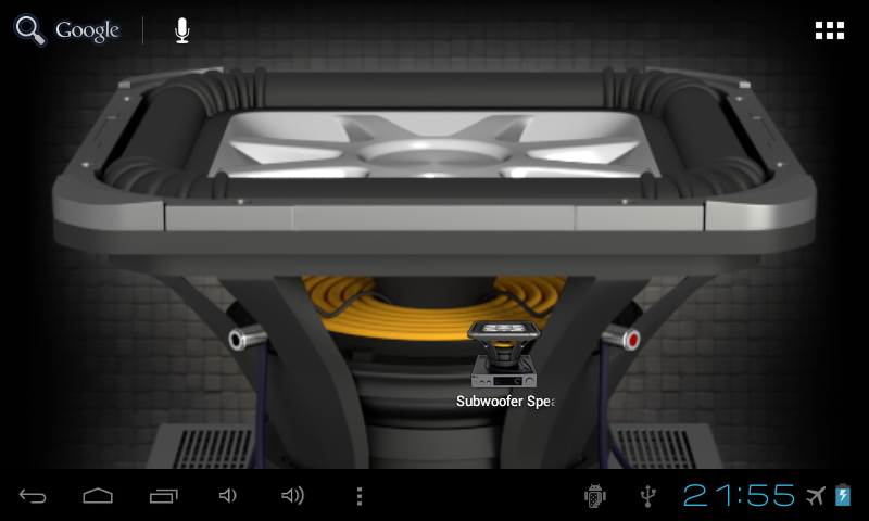 Subwoofer Speaker Wallpaper - screenshot