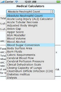 Health and Medical Calculators - screenshot thumbnail