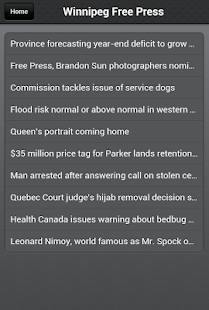 Winnipeg News- screenshot thumbnail
