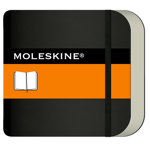 Moleskine Journal 生產應用 LOGO-玩APPs