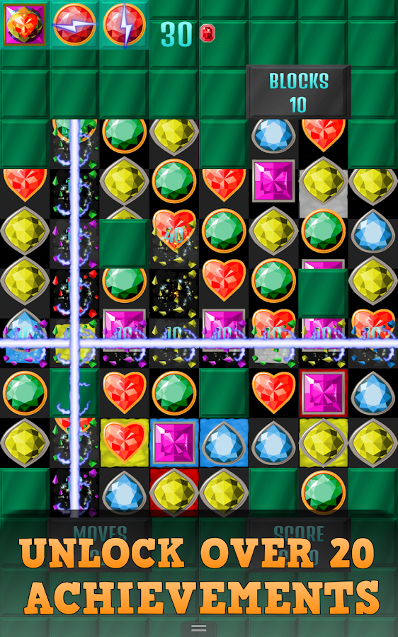 Match-3 Jewels Worlds- screenshot