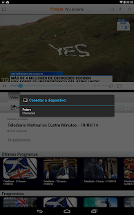 RTVE.es | Tableta - screenshot thumbnail
