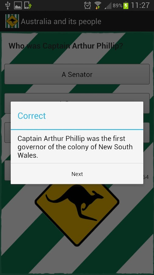 Australian Citizenship Test- screenshot