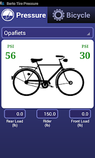 Bicycle Tire Pressure Calc - screenshot thumbnail