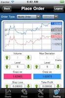 Screenshot of Forex-Metal MT4 droidTrader
