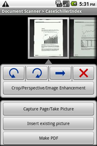 Document Scanner Trial - screenshot