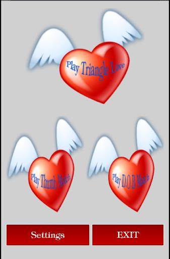 Triangle Love Game