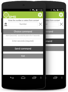 SMS client for AndroidLost screenshot 2