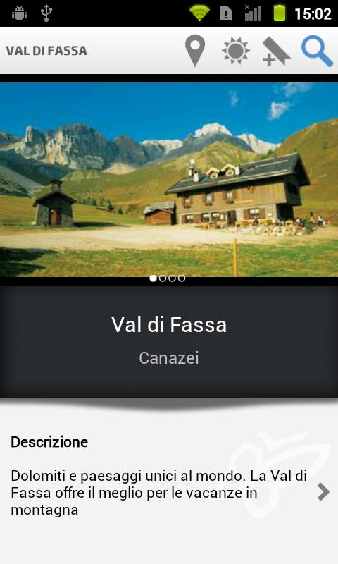 Val di Fassa Tourist Guide- screenshot