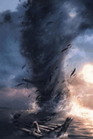 Moving Tornado Live Wallpaper