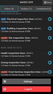 SagesGov Inspections - screenshot thumbnail
