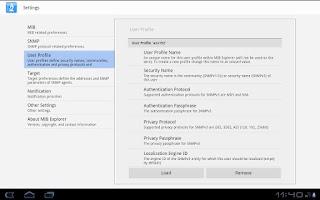 Screenshot of MIB Explorer Android (Free)