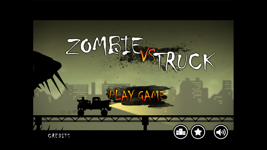 Zombie vs Truck- screenshot