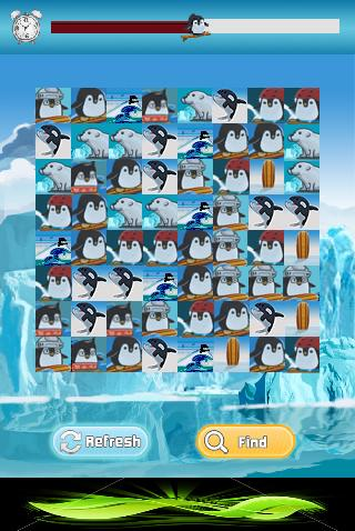 Penguin Surf Match