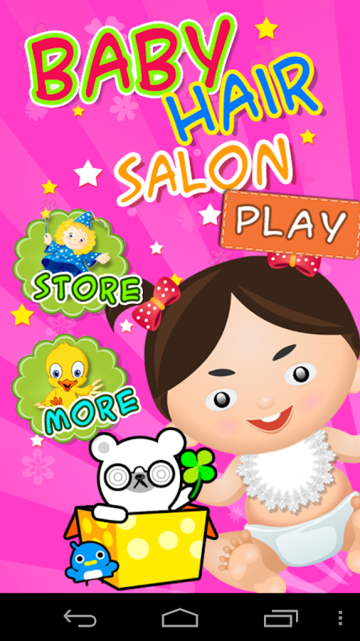 Baby Hair Salon - screenshot