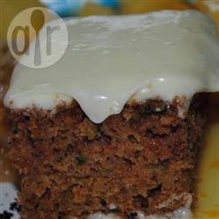 Courgette and Walnut Cake Recipe