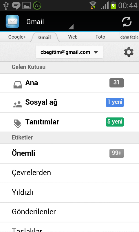 Fast Mail | Hızlı Mail - screenshot