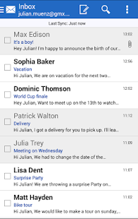 GMX Mail Screenshot 11