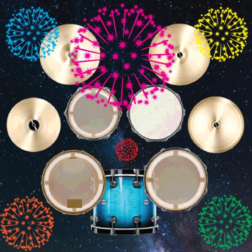 Funny Fireworks Drum