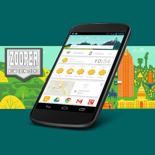 Zooper Now Skin Theme