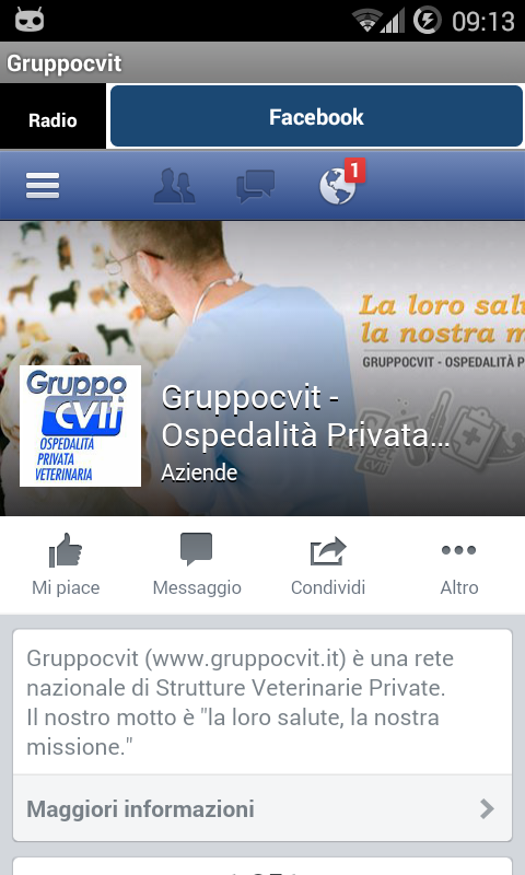 Radio Gruppocvit- screenshot