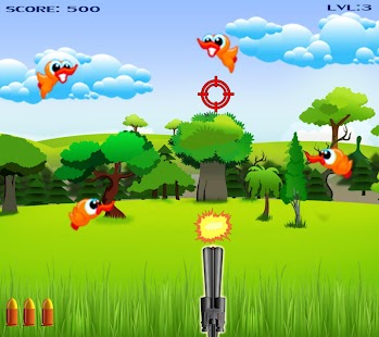 hunting bird game