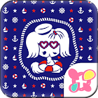 Cute Theme-Anchors Up- icon
