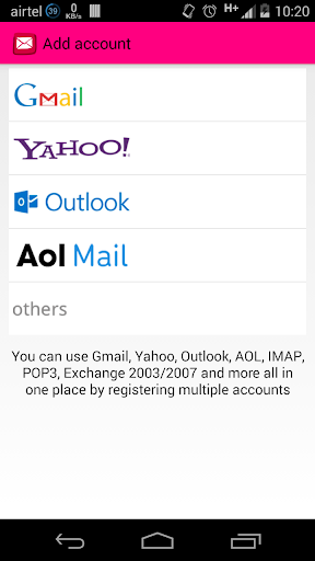 Mails - AOL Outlook and more