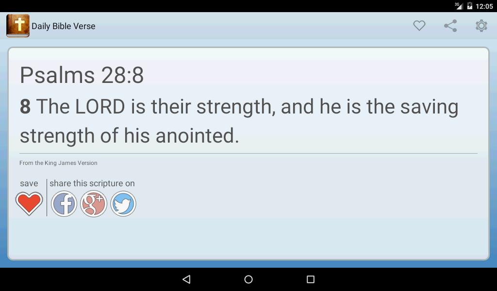 Daily Bible Verse- screenshot
