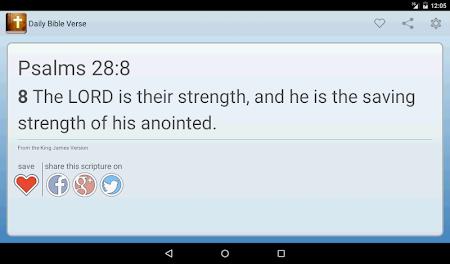 Daily Bible Verse 2.05 screenshot 303865