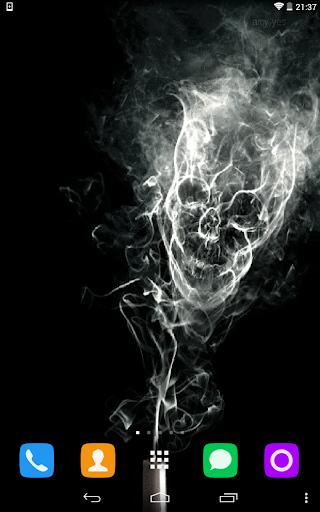 Smoke Animated Live Wallpaper
