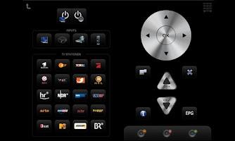Screenshot of mediola® a.i.o. remote
