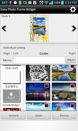 Easy Photo Frame Widget
