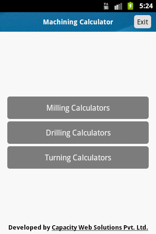 Machining Calculator