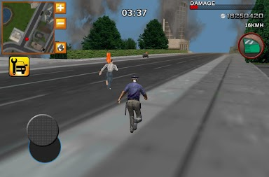 Crime City Real Police Driver APK screenshot thumbnail 2