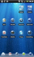 Screenshot of Bubble GO Launcher EX Theme