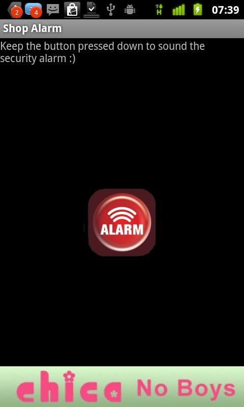 Alarm Sound - screenshot