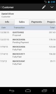 MobileBiz Lite - invoice App - náhled