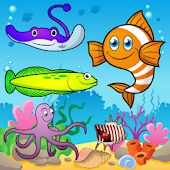 Puzzle for Toddlers Sea Fishes